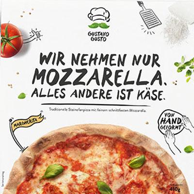Gustavo Pizza Mozzarella