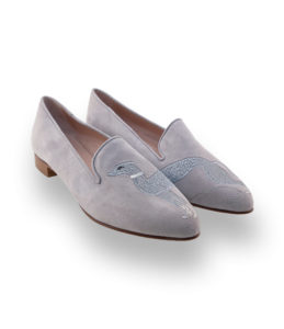 john thomas loafer grau